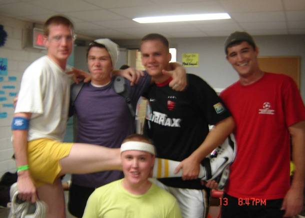 Participants of Dodgeball Madness