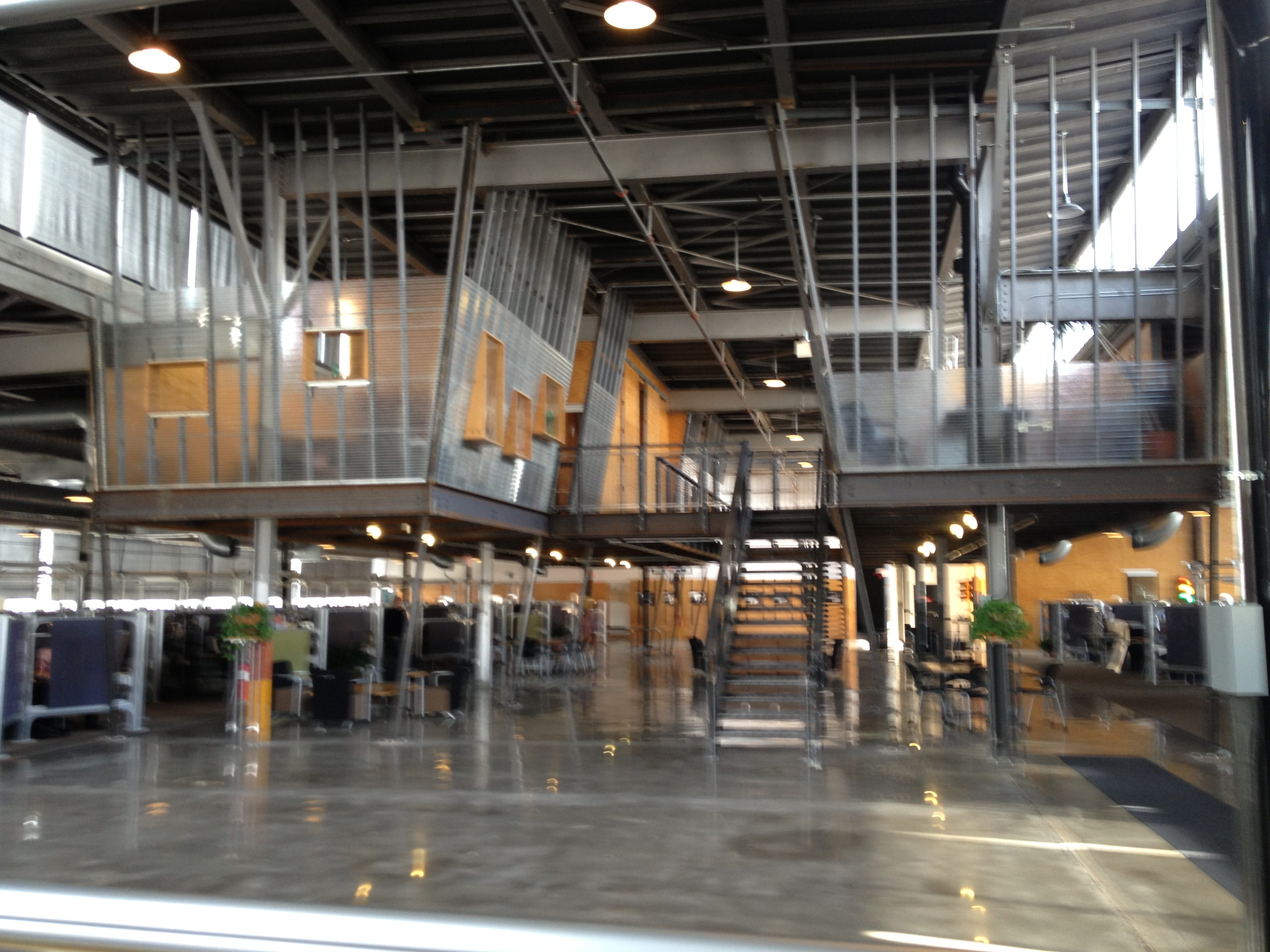 Converted Warehouse touring two rivers marketing | iowa prssa